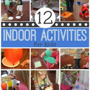 12 Active Indoor Activities for Kids
