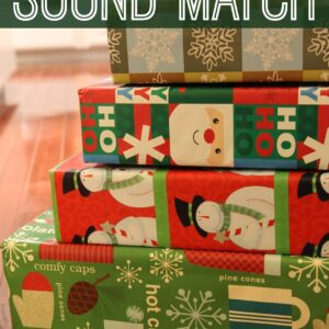 Christmas Present Sound Match for Toddlers
