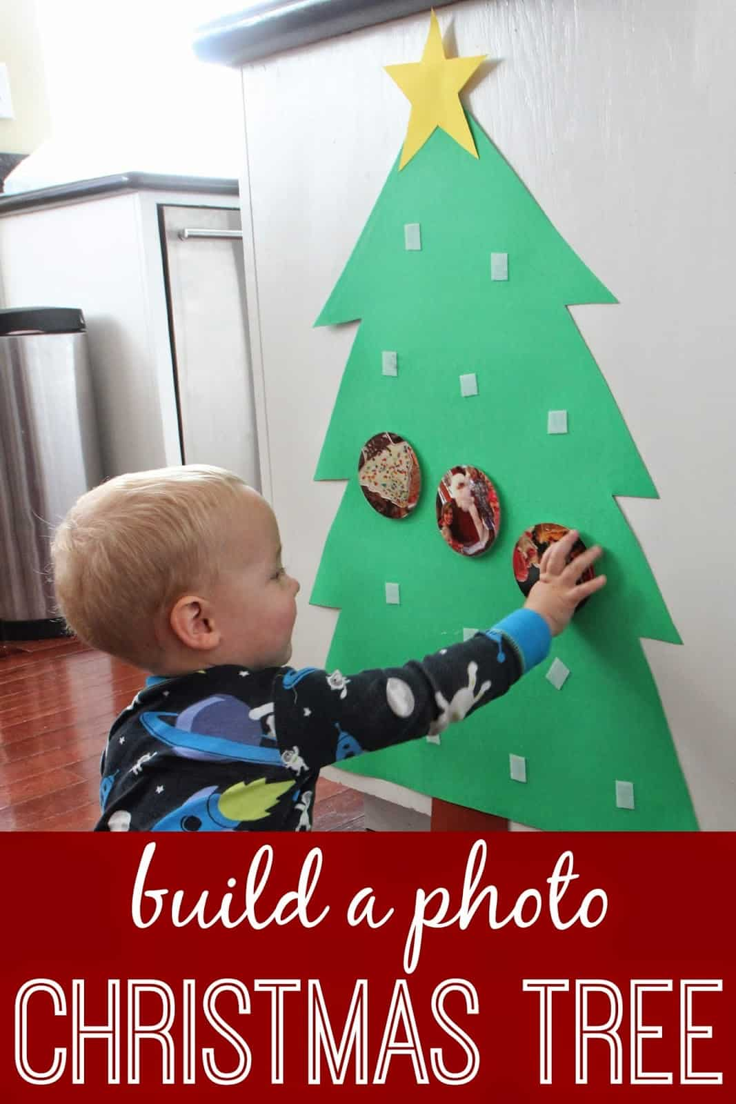 Build A Photo Christmas Tree For Babies Toddlers Toddler Approved