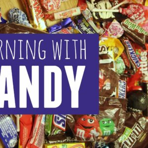 Preschool Learning Activities with Candy!