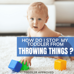 How Do I Stop My Toddler from Throwing Things!
