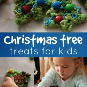 Christmas Tree Rice Crispy Treats