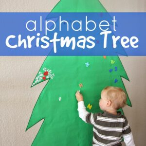 Giant Alphabet Tree for Toddlers and Preschoolers