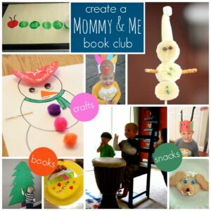 Create a Mommy and Me Book Club {IKEA Soft Toys for Education}
