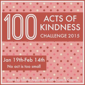 100 Acts of Kindness Challenge 2015