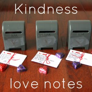 Kindness Mailbox Love Notes