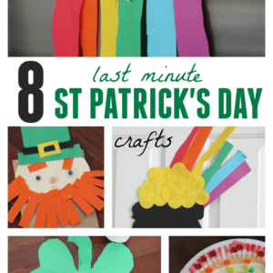 8 Easy St. Patrick's Day Crafts for Kids