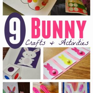 9 Bunny Crafts and Activities for Toddlers and Preschoolers