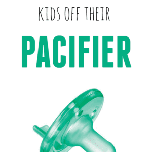Tips for Weaning Kids off their Pacifier