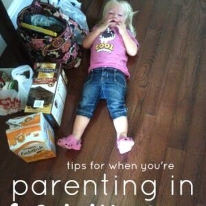 Tips and Resources for Parenting in Survival Mode