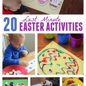 20 Last Minute Easter Activities for Kids