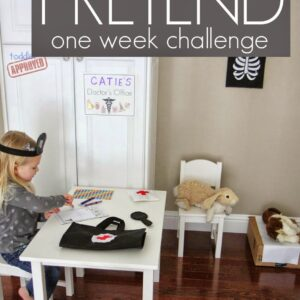 15 Minute Pretend Play Challenge