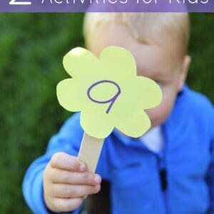 2 Spring Themed Name Recognition Activities for Kids