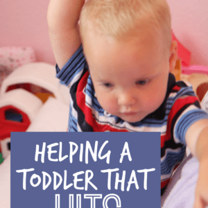 Helping a Toddler That Hits