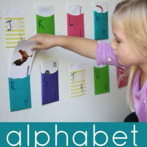 Alphabet Pocket Matching Game