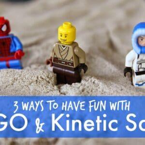 LEGO Fun with Kinetic Sand