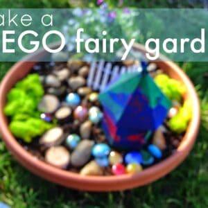 Easy LEGO Fairy Garden for Kids