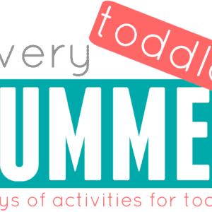 A Very Toddler Summer