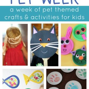 Pet Week {Week of Playful Learning Activities}