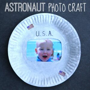 Astronaut Photo Craft for Kids