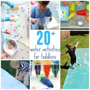 20+ Outdoor Water Activities for Toddlers
