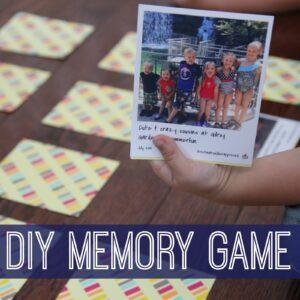 DIY Memory Game for Kids