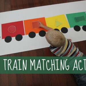 Shape Train Matching Activity