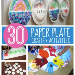30+ Paper Plate Crafts & Activities for Kids
