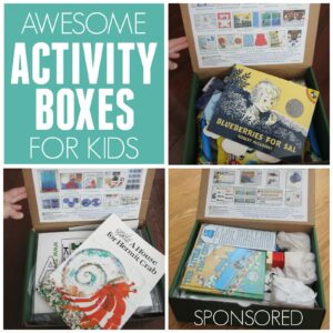 Monthly Activity Boxes from Ivy Kids!