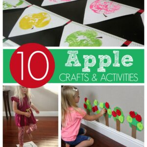 10 Apple Crafts and Activities for Kids