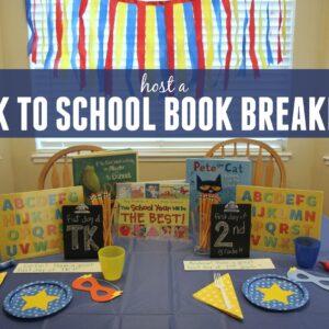 Super Back to School Book Breakfast