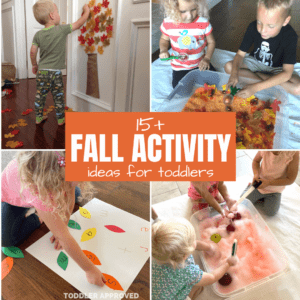 Simple Fall Activities for Toddlers