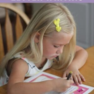 5 Tips for Letter Writing with Preschoolers