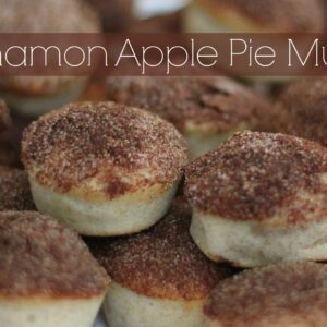 Cinnamon Apple Pie Muffins