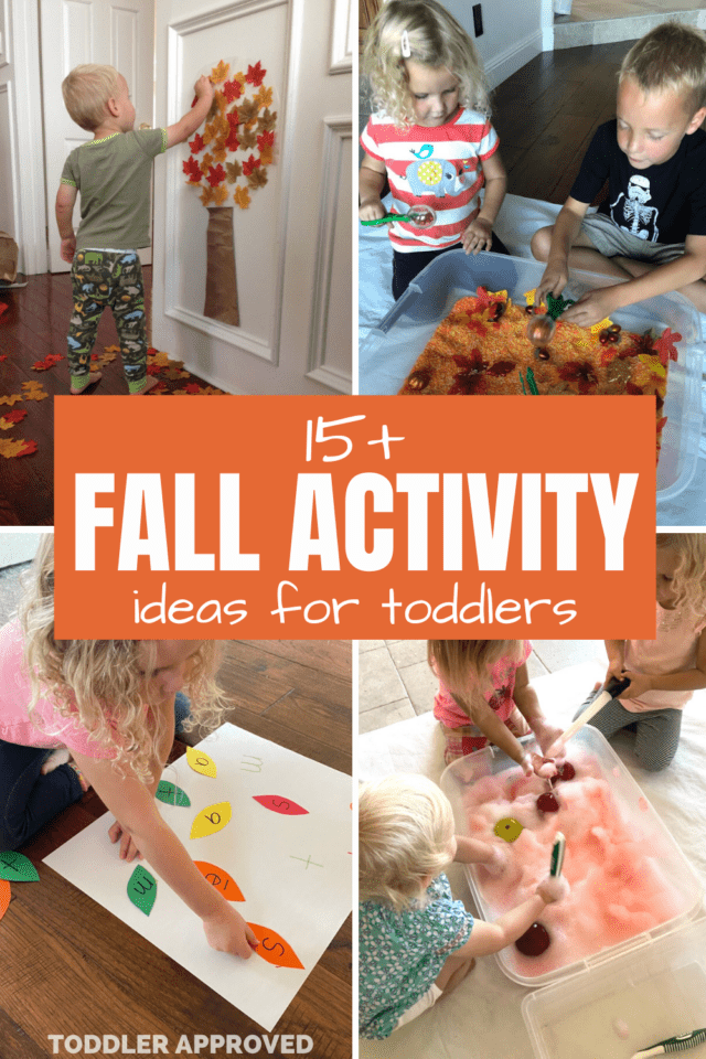 15+ fall activity ideas for toddlers