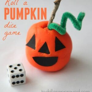 Roll a Pumpkin Dice Game
