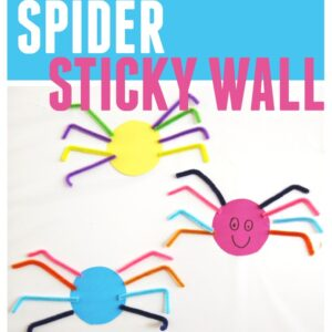 Spider Sticky Wall for Toddlers