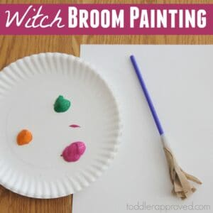 Witch Broom Painting