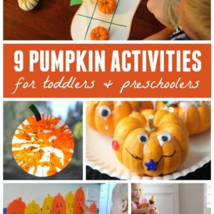 9 Pumpkin Activities for Toddlers and Preschoolers