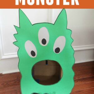 Feed the Monster Game for Toddlers