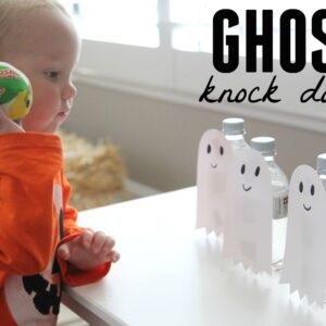 Ghost Knock Down Game