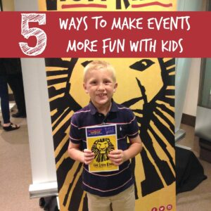 5 Tips for Making Live Events More Fun with Kids