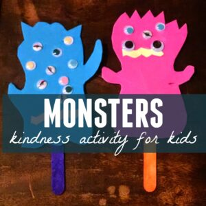 Monsters Kindness Activity
