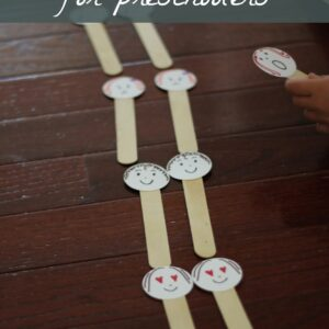 Doubles Activity for Preschoolers