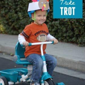 Host a Turkey Trike Trot with Little Tikes