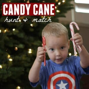 Candy Cane Hunt and Match