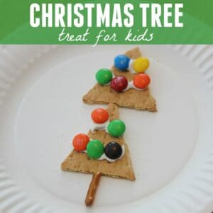 Simple Christmas Tree Treat for Kids