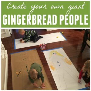 Make Giant Gingerbread People