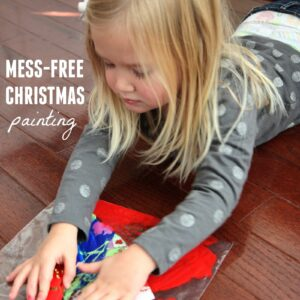 Mess-Free Christmas Painting