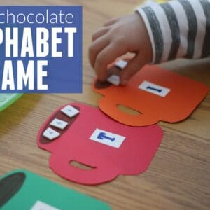 Hot Chocolate Alphabet Matching Game